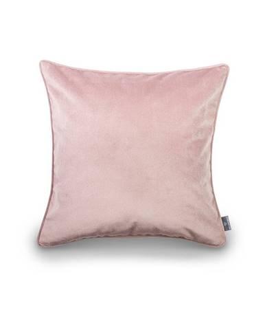 Ružová obliečka na vankúš WeLoveBeds Dusty, 50 × 50 cm