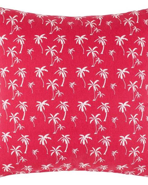 Möbelix Dekoračný Vankúš Lady Palms, 45/45 Cm, Ružová
