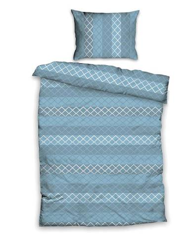 Posteľná Bielizeň Gabriela. 140/200cm, Modrá