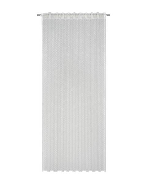 Möbelix Záves Lea, 140/245cm, Biela