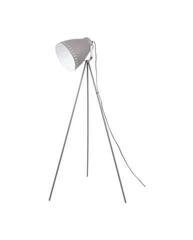 Sivá voľne stojacia lampa Tristar