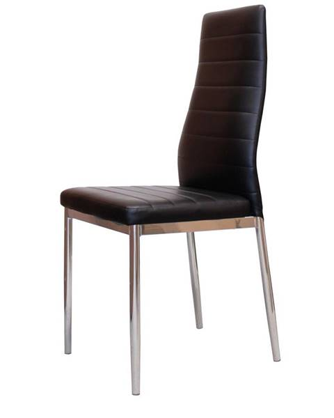 IDEA Nábytok Jedálenská stolička MILÁNO čierna