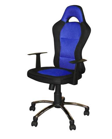 Kancelárske kreslo CESAR modré K80