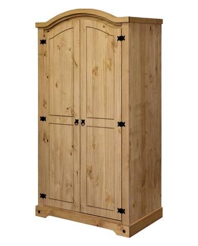 Skriňa 2-dverová CORONA vosk