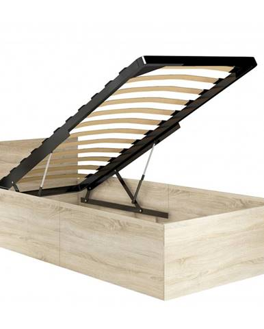 ArtAko Jednolôžková posteľ Clips 90x200 cm s roštom