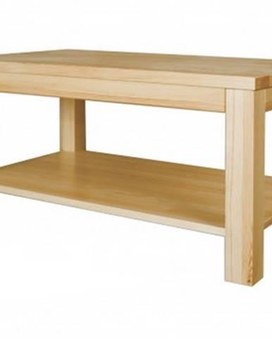 Konferenčný stolík - masív ST117   borovica S120