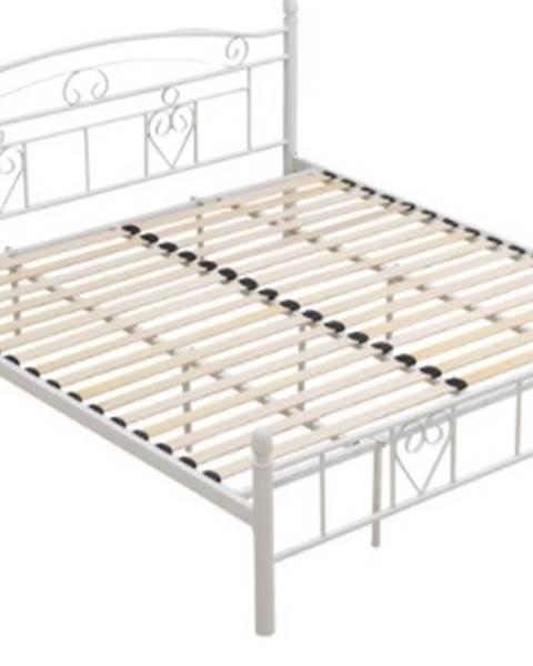 Kondela Tempo Kondela Kovová posteľ Brita 180 x 200
