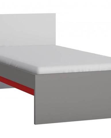 ArtExt Jednolôžková posteľ LASER TYP LASZ01