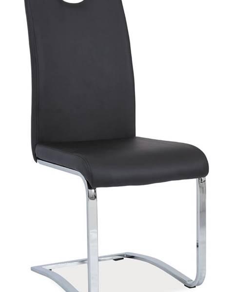 Signal Signal Jedálenská stolička H-790 čierna