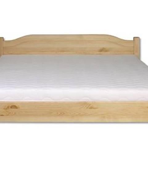 Drewmax Manželská posteľ - masív LK106 | 160cm borovica