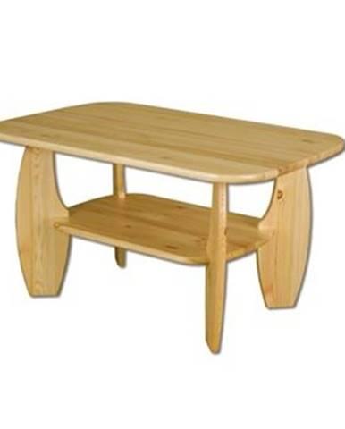 Drewmax Konferenčný stolík - masív ST113 | borovica