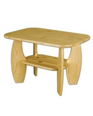 Drewmax Konferenčný stolík - masív ST114 | borovica