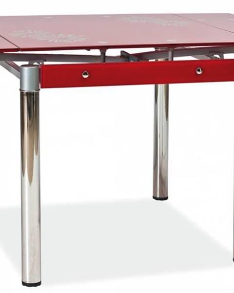 Signal Signal Jedálenský stôl GD-082 červený