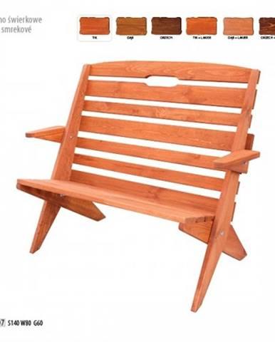 Drewmax Záhradná lavica MO107 farebné prevedenie