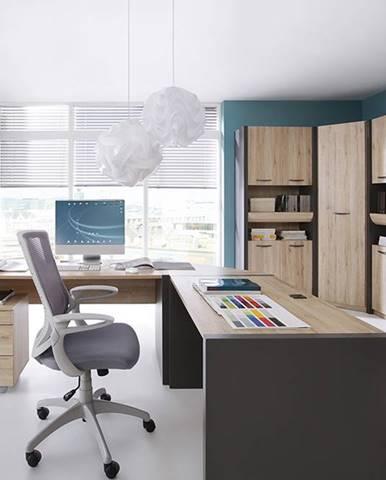 BRW Kancelársky stôl Executive BIU/120