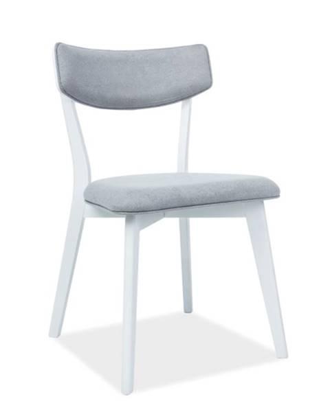 Signal Signal Jedálenská stolička KARL bielosivá