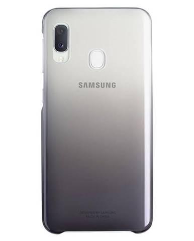 Kryt na mobil Samsung Gradation Cover na Galaxy A20e čierny