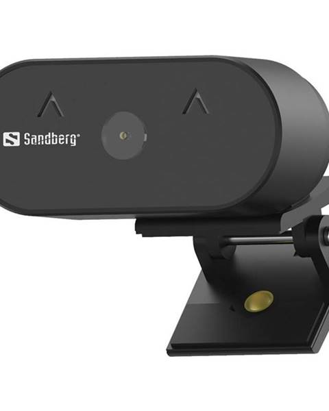 Sandberg Webkamera Sandberg Webcam Wide Angle 1080p čierna