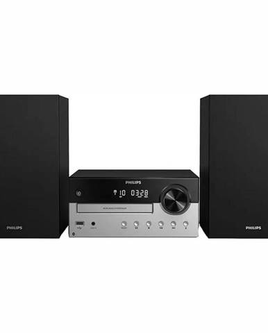 Mikro HiFi systém Philips TAM4205 strieborn