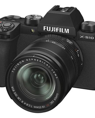 Digitálny fotoaparát Fujifilm X-S10 + 18-55 mm čierny