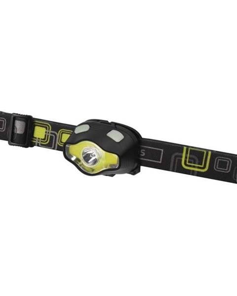 EMOS Čelovka  Emos COB LED + LED P3536, 220 lm, 100 m, 3× AAA