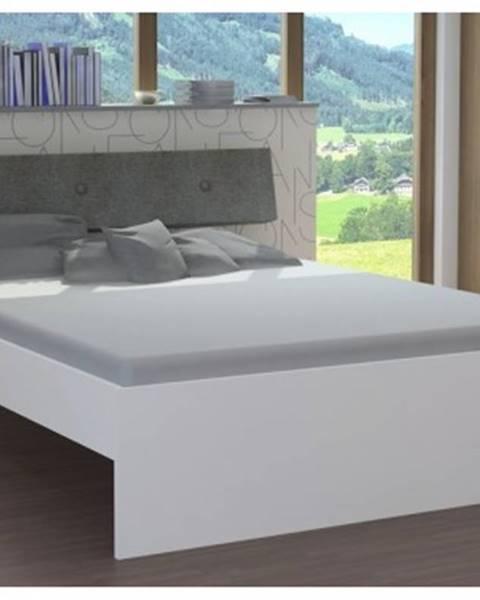 ASKO - NÁBYTOK Posteľ Katrin 160x200 cm, biela%