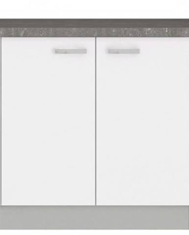 Dolná kuchynská skrinka Bianka 80D, 80 cm%