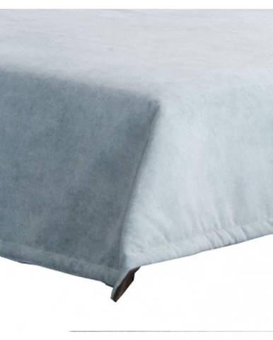 Prehoz na posteľ Nice PRE 28, modro-šedá látka%