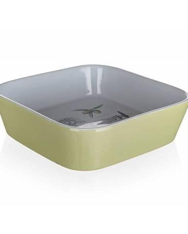 Banquet Keramická zapekacia miska OLIVES, 17,5 x 17,5 x 5 cm