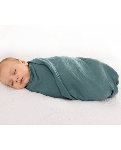 Babymatex Zavinovačka zelená, 80 x 120 cm