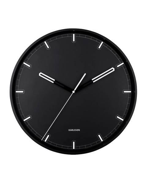 Karlsson Dizajnové nástenné hodiny KA5774BK Karlsson 40cm