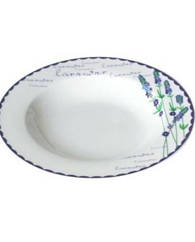 Toro Keramický hlboký tanier Levanduľa, 21,5 cm
