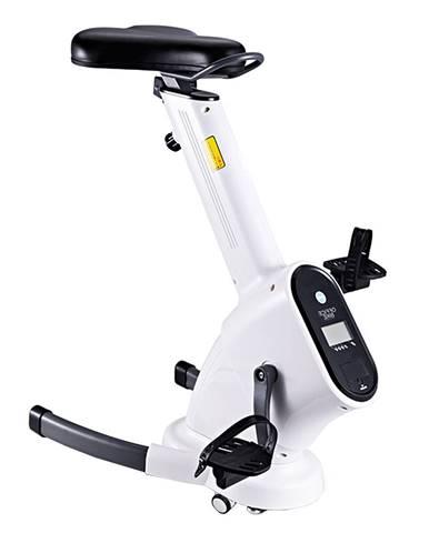 Kancelárska stolička/stacionárny bicykel biela BIKE