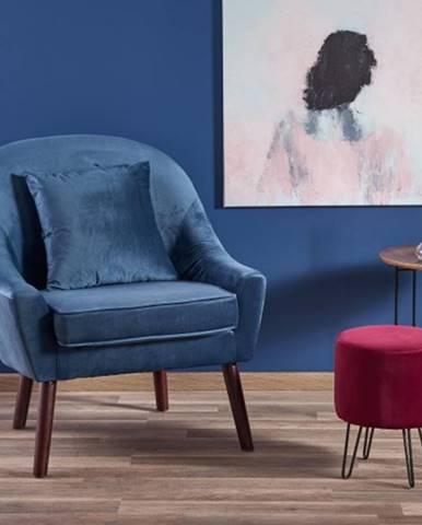 Kreslo Opale modrá