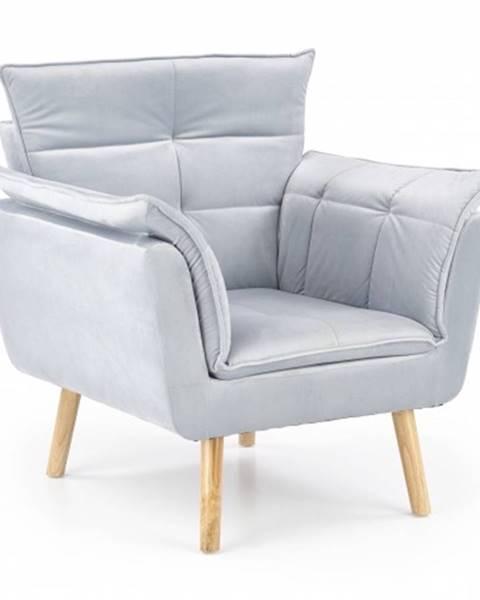 OKAY nábytok Moderné kreslo Rezzo sivá