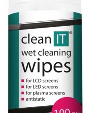 Čistiace obrúsky na LCD/TFT CLEAN IT CL140, 100ks
