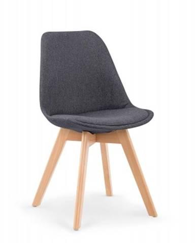 Jedálenská stolička K303 sivá