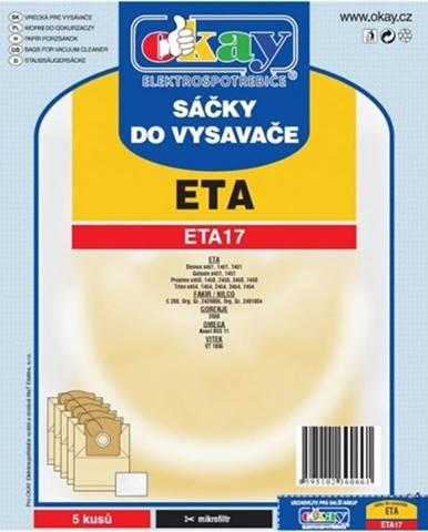 Vrecká do vysávača Eta ETA 17, 10ks