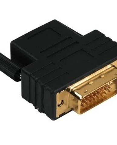 Redukcia DVI-D vidlice - HDMI zásuvka, pozlacená