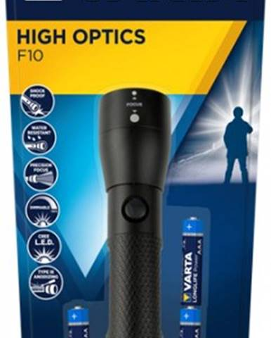 Ručné svietidlo Varta Flashlight Led High Optics 18810, LED