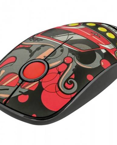 Bezdrôtová myš Trust Sketch, červená + Zdarma podložka Olpran