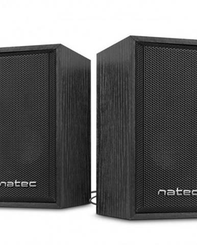 Reproduktory 2.0 Natec Panther 6W, dřevo