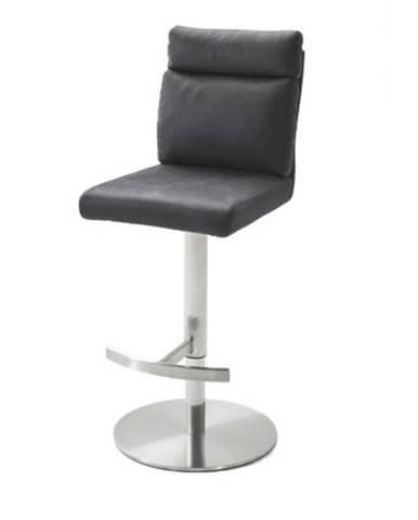 Barová stolička RILEY sivá