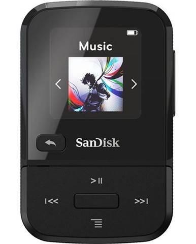 MP3 prehrávač Sandisk Clip Sport Go 16 GB čierny