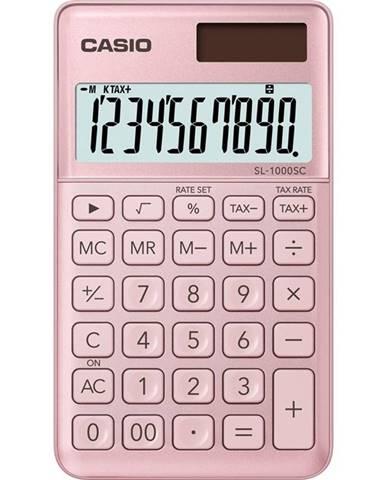 Kalkulačka Casio SL 1000 SC PK ružov