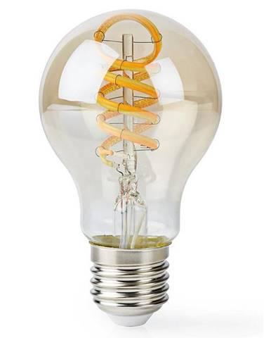 Inteligentná žiarovka Nedis Wi-Fi, 5.5W, 350lm, E27, teplá