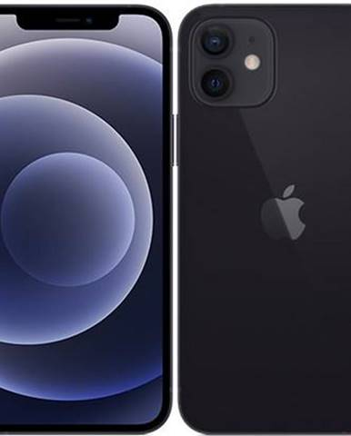 Mobilný telefón Apple iPhone 12 256 GB - Black