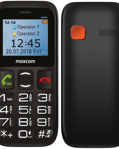 MaxCom Mobilný telefón MaxCom MM426 čierny
