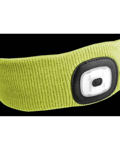 Sixtol Sixtol Čelenka s čelovkou 45 lm, USB, uni, žltá