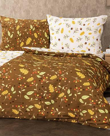 4Home Krepové obliečky Jeseň, 140 x 200 cm, 70 x 90 cm